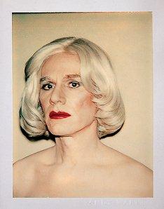 Self-Portrait (in Drag), 1981.