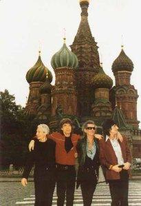 10 лет назад Rolling Stones первый раз выступили в России!