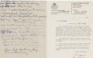 На аукционе продадут текст к песне Джона Леннона I'm Only Sleeping, написанный им на телефонном счете. Как полагают специалисты, нацарапанная запись будет стоить более $500 тыс. Напоминаем, что I'm Only Sleeping вошла в альбом 1966 года группы The Beatles.