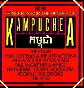 Concerts for the People of Kampuchea это двойной концертный альбом, выпущенный 30 лет назад (30 марта 1981 года в США и 3 апреля 1981 в Великобритании). На диске представлены записи Пола Маккартни и Wings, The Who, Queen, Элвиса Костелло, The Pretenders, The Clash, The Specials и многих других артостов, которые приняли участие в благотворительных концертах, все средства от которых были перечислены в фонд помощи жертвам гражданской войны в Кампучии (современное название стрны - Камбоджа).
