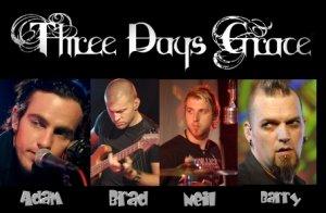 Three Days Grace — канадская рок-группа, исполняющая пост-гранж. Была сформирована под названием Groundswell в Онтарио, Канада в 1992 году. В 1997 году коллектив в составе гитариста и вокалиста Адама Гонтьера, барабанщика Нейла Сандерсона и басиста Бреда Уолста сменил название на нынешнее.