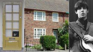 Деревянная дверь в дом, в котором Сэр Пол Маккартни проживал с 1955 по 1964 год была куплена по телефону с аукциона  Chorley в Ланкашире. Дверь, когда-то установленная в доме по адресу  20 Forthlin Road, Allerton, Liverpool, была прподана за  £ 5060.