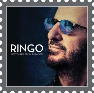 Ринго Старр представил обложку своего нового альбома Postcards From Paradise, сообщает  Examiner . Автором снимка является официальный фотограф битла Роб Шэнахэн. Фото стилизовано под почтовую марку, чтобы соответствовать названию альбома.