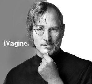 Эти два человека были похожи не только внешне: Джон Леннон был любимым битлом Стива Джобса. Так пишет биограф Джобса Уолтер Айзексон в его официальной биографии, выпущенной издательством Simon & Schuster. Безусловно, Стив назвал свою компанию Apple в честь Apple Corps Records.
