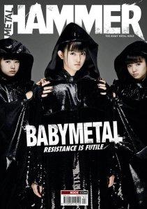 Babymetal попадают на обложку Metal Hammer опять. Не прошло и года.