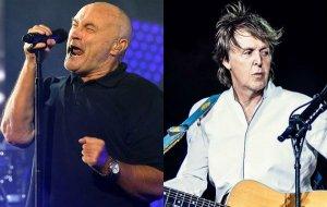 Фил Коллинз рассказал, что Пол Маккартни пытался с ним помириться. Об этом сообщает  NME .