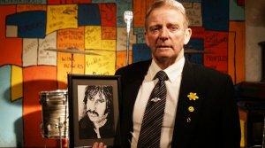 Рисунок с Ринго Старром, спасенный уборщиком в Cavern Club ,   оценили в £5 тыс., сообщает    C lick  L iverpool .