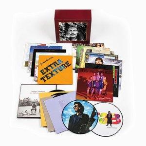 В честь дня рождения Джорджа Харрисона вышли обновленная версия книги  I Me Mine , виниловый бокс-сет  George Harrison —The Vinyl Collection  и тематический  проигрыватель .  Как заявила Оливия Харрисон, поводом для публикации  нового варианта книги  стало то, что оригинального издания больше нет в продаже. Сначала мы думали сделать цифровую версию, но потом я сказала: Нет, нам нужно сделать это правильно, – сообщила вдова музыканта, которую цитирует  Los Angeles Times .  Если оригинал был 399-страничным, то обновленный вариант состоит из 632 страниц. По словам Оливии, книга состоит в основном из слов песен и текстов, поэтому она посчитала, что не нужно добавлять много фотографий – вместо этого Харрисон сфокусировалась на том, чтобы собрать больше песен, которые Джордж никогда не выпускал (например, Mother Divine и Hey Ringo).  Оливия также рассказала, что Дани Харрисон принимал активное участие в создание  бокс-сета .