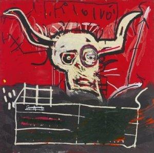 Картина Жан-Мишеля Баскии из коллекции Йоко Оно может быть продана за $12 млн на аукционе, передает  Bloomberg .  Полотно называется Cabra. Художник создал его между 1981 и 1982 гг. в качестве посвящения Мохаммеду Али. Название в переводе с испанского означает коза, а если взять английский вариант - goat, то его можно перевести как Greatest of All Time - именно так называли легендарного боксера.  Баския скончался в 1988 году в возрасте 27 лет. В мире искусства его работы в последнее время бьют рекорды. Например, в мае одна из картин ушла с молотка за $110,5 млн. Это наибольшая сумма для произведений американских художников на аукционах.  Я имела удовольствие владеть, жить с этим шедевром более 20 лет. Пришло время найти ему новый дом, – говорится в заявлении Йоко.  Торги Sotheby's пройдут 16 ноября в Нью-Йорке. Часть вырученных средств будет передана благотворительной организации Spirit Foundation, основанной в 1978 году Оно вместе с Джоном Ленноном. А пока увидеть Cabra можно будет в Гонконге, Лондоне и Нью-Йорке.