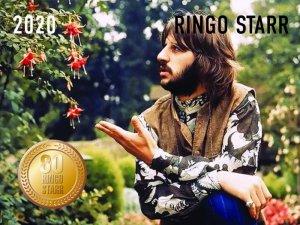 Вышел календарь на 2020 год, посвящённый Юбилею Ринго Старра