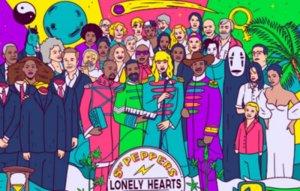 Немецкий художник TrippieSteff обновил обложку альбома Sgt. Pepper's Lonely Hearts Club Band со «звездами» XXI века, сообщает  NME .  Это сделано в рамках проекта, участники которого создают римейки классических пластинок, среди которых Parallel Lines от Blondie и Nevermind от Nirvana.  TrippieSteff включил в свой вариант таких знаменитостей, как Тейлор Свифт, Бейонсе, Барак Обама, Канье Уэст, Илон Маск, Берни Сандерс и Конь БоДжек. По словам художника, он выбрал самых культовых и влиятельных персон последнего десятилетия.  «Это люди, которых можно назвать неоднозначными фигурами в музыке, политике, на телевидении, в правозащитной сфере и так далее. Объединив их в одном изображении, я хотел показать, что все они одинаково важны», — сказал автор нового коллажа.