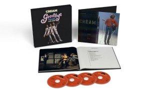 Компания Universal объявила о предстоящем выпуске комплекта из четырех компакт-дисков Cream Goodbye Tour Live 1968. 4-х дисковый бокс выйдет 7 февраля 2020 года и этот набор объединяет 36 треков, в том числе 29 из них впервые появляются на CD. Все они записаны во время прощального тура Cream (в составе - Джинджер Бейкер, Джек Брюс, Эрик Клэптон) по США в октябре 1968 года и их финального выступления в Великобритании в лондонском Royal Albert Hall 26 ноября того же года.