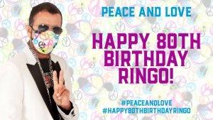 Каждый год, 7 июля, в свой день рождения, Ринго Старр проводит всемирную акцию Peace & Love (в переводе «Мир и Любовь»). Эта традиция существует с 2008 года, когда у бывшего ударника The Beatles спросили, чего он хочет на день рождения, и Ринго ответил: Больше мира и любви. 7 июля 2020 года состоится уже четвертая акция, которая проводится в России силами Клуба Битлз.ру.