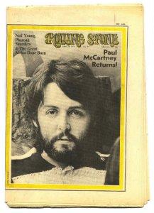 * Этот снимок Пола Маккартни появился на обложке американского издания Rolling Stone, в номере 57 от 30 апреля 1970 года.