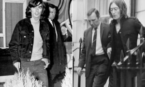 Бывший британский полицейский Норман Пилчер выпускает мемуары Bent Coppers, сообщает  The Guardian .  Пилчер получил известность в 1960-х годах. Именно он задерживал Джона Леннона, Джорджа Харрисона, Дасти Спрингфилд и других рок-звезд. Его даже прозвали «Groupie Pilcher», поскольку он есть на фотографиях, сделанных во время ареста знаменитостей.  На стороне закона Норману удержаться не удалось. Отряд по борьбе с наркотиками, в котором он работал, погряз в коррупции, а сам Пилчер получил срок в четыре года за дачу заведомо ложных показаний.  Теперь экс-полицейский хочет «расставить точки над «и». Он уверяет, что стал жертвой «подставы», как многие объекты его отряда в свое время.