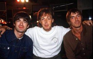 Пол Уэллер поделился воспоминаниями о работе с Полом Маккартни в 1995 году, сообщает  NME .  Оба музыканта присоединились к группе The Smokin' Mojo Filters, в которую также входили Ноэл Галлахер, Стив Крэдок (из Ocean Colour Scene), Карлин Андерсон (из Young Disciples) и Стив Уайт. Они собрались, чтобы записать трек для благотворительного проекта The Help Album.  По словам Уэллера, они так нервничали из-за шанса поработать с сэром Полом, что заранее записали свои партии для Come Together: «А когда пришел Макка, он повел себя отлично. Он сыграл на гитаре и на (электропианино) Wurlitzer, а еще записал с нами бэк-вокал».  Как признался Уэллер, он нервничал даже из-за того, что нужно было просить битла сделать еще один дубль, но и в этом случае Маккартни реагировал прекрасно.